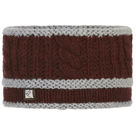 E9 Braid Bandeau, wine-grey